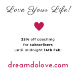 Thumbnail image for Spread the love! 25% off coaching with Soul Ambition
