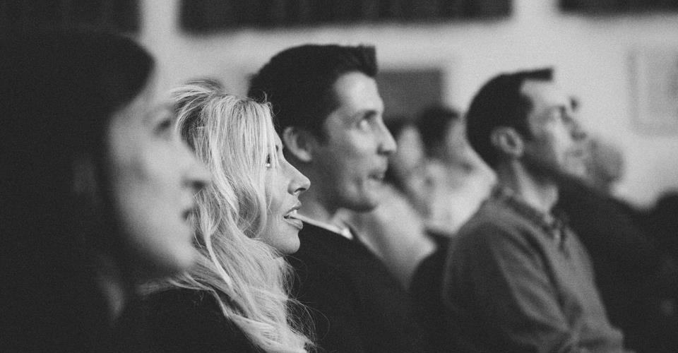 Engaged audience - photo by Jonathan Ryder